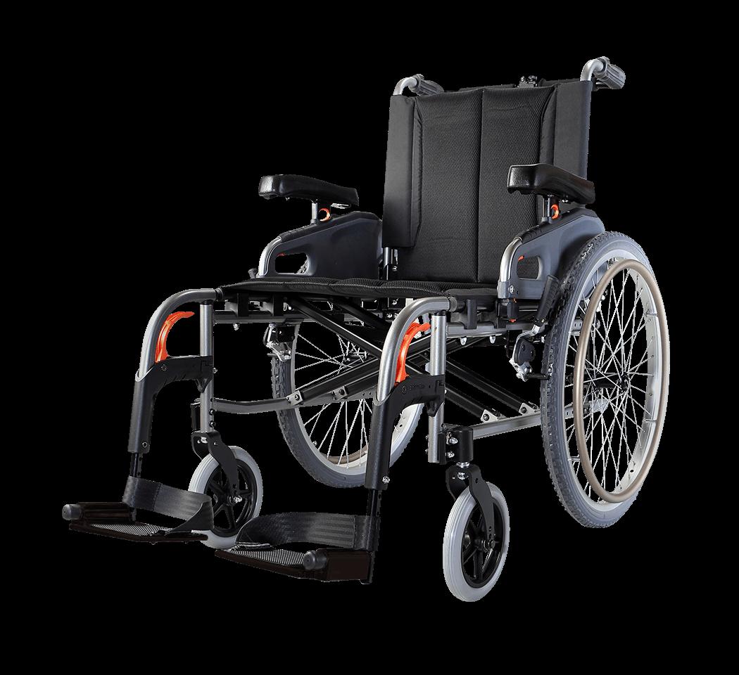 Кресла среднеактивные, колесные, базовые