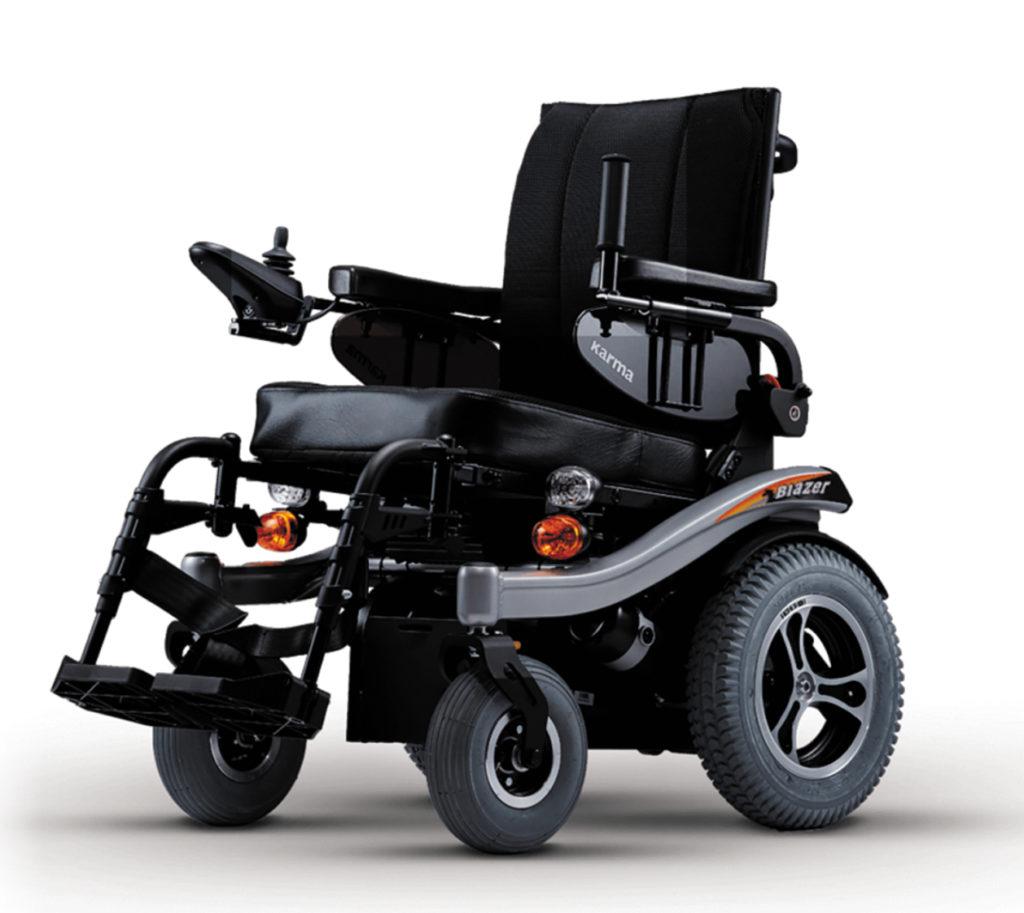 Кресла колесные с электроприводом, базовые